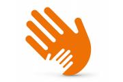 Logo Fortbildungsangebot: Zwei sich berührende Hände
