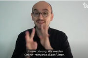 Screenshotdes DGS-Videos mit Thomas Paul Gluch